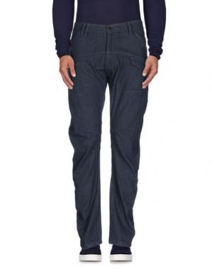 Джинсовые брюки DUCK AND COVER. Цвет: синий
