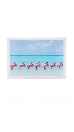 Фотопринт Flamingo Balloons Gray Malin