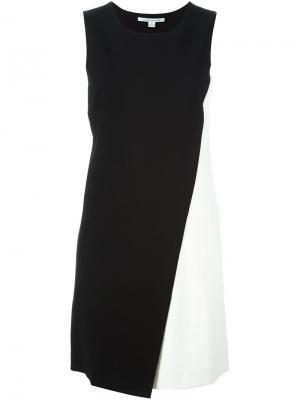 Платье колор-блок Diane Von Furstenberg. Цвет: чёрный