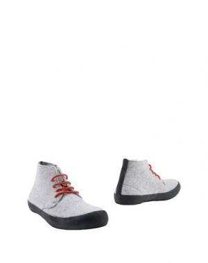 Полусапоги и высокие ботинки ESSENCE. Цвет: светло-серый