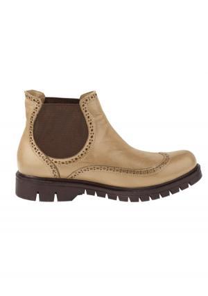 Ботинки Andrea Conti. Цвет: серо-коричневый