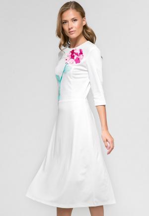 Платье YuliaSway Yulia'Sway. Цвет: белый