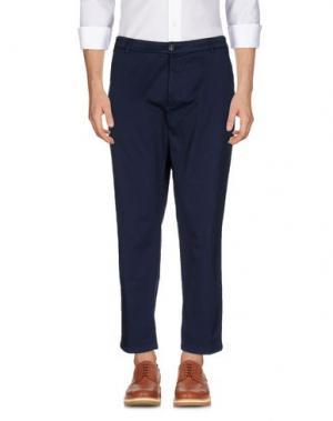 Повседневные брюки DEPARTMENT 5. Цвет: грифельно-синий