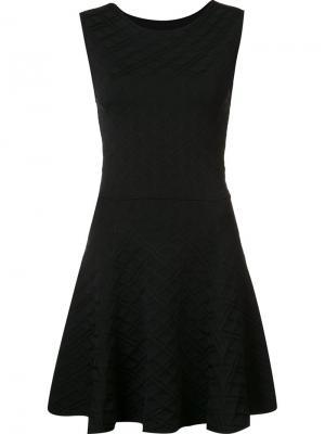 Платье Cleo Zac Posen. Цвет: чёрный