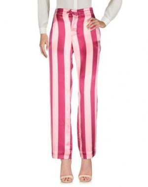 Повседневные брюки BAGUTTA. Цвет: розовый