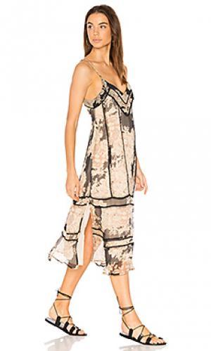 Платье миди marla Cleobella. Цвет: черный