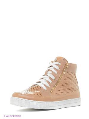 Ботинки Daze. Цвет: бежевый