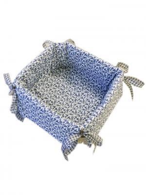 Хлебница Корнбломстер Helgi Home. Цвет: голубой, бежевый