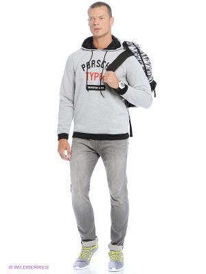 Толстовка TYP 64 HOOD Adidas. Цвет: черный