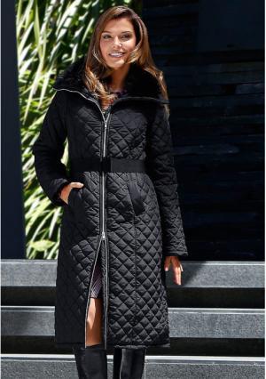 Пальто MY STYLE. Цвет: черный