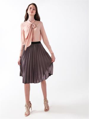 Блузка DARBOURSTORE. Цвет: лиловый, бежевый