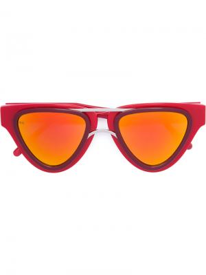 Sodapop V sunglasses Smoke X Mirrors. Цвет: красный