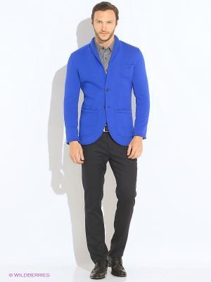 Пиджак Пряник. Цвет: синий