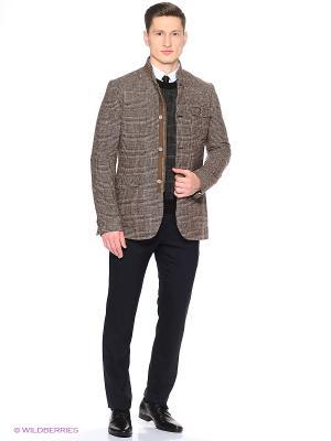 Пиджак Alfred Muller. Цвет: коричневый