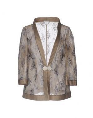 Пиджак CAILAN'D. Цвет: голубиный серый