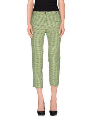 Повседневные брюки •MILANO PARIGI•. Цвет: кислотно-зеленый