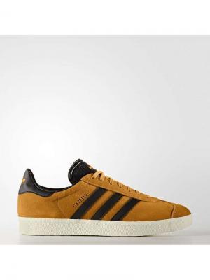Кеды GAZELLE TACYEL/CBLACK/GOLDMT Adidas. Цвет: рыжий, черный