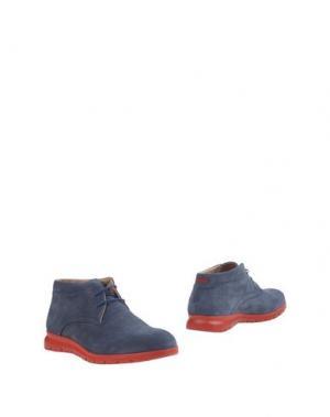 Полусапоги и высокие ботинки CAFèNOIR. Цвет: грифельно-синий