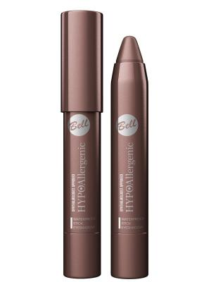 Bell Hypoallergenic тени для век в карандаше Waterproof Stick Eyeshadow Тон 06. Цвет: коричневый
