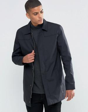 Solid Макинтош Tailored & Originals. Цвет: черный
