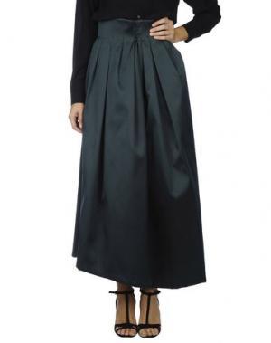 Длинная юбка DICE KAYEK. Цвет: изумрудно-зеленый