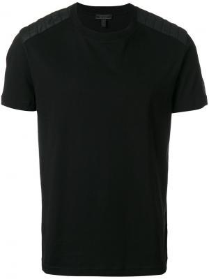 Базовая футболка Belstaff. Цвет: чёрный