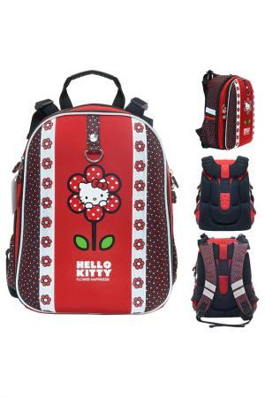 Рюкзак школьный ACTION!. Цвет: красный