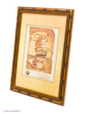 Фоторамка деревянная 21Х30 VELD-CO. Цвет: коричневый