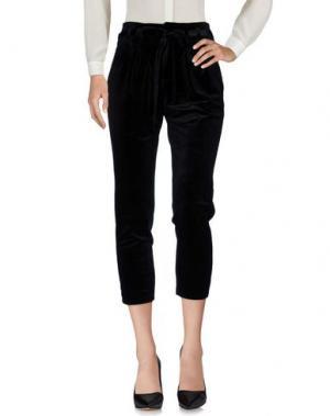 Повседневные брюки JOVONNISTA. Цвет: черный