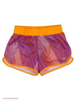 Шорты TEMPO RIVAL AOP1 SHORT YTH Nike. Цвет: фиолетовый