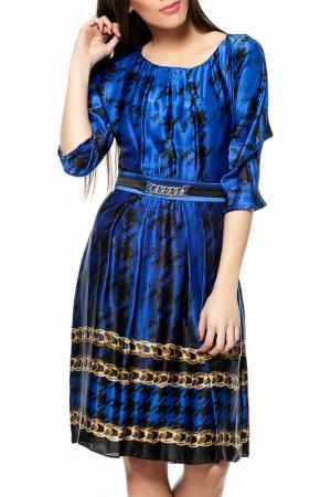 Платье Gizia. Цвет: синий