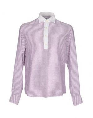 Pубашка DANOLIS. Цвет: фиолетовый