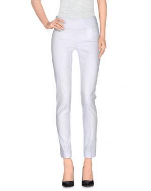 Повседневные брюки PIANURASTUDIO. Цвет: белый