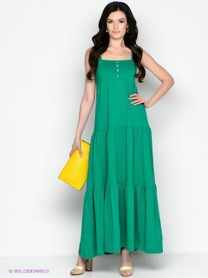 Сарафан Vis-a-vis. Цвет: зеленый