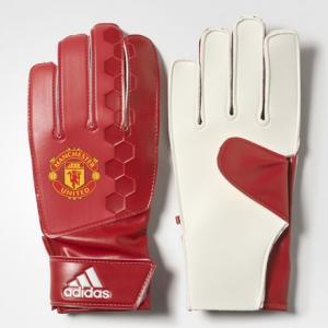 Вратарские перчатки Манчестер Юнайтед Lite  Performance adidas. Цвет: красный