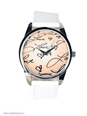 Часы Mitya Veselkov. Цвет: белый, бежевый