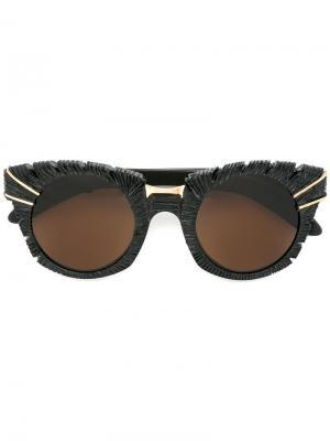 Солнцезащитные очки Phoenix Kuboraum. Цвет: чёрный