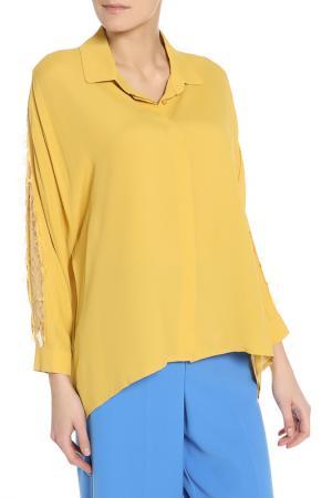 Рубашка BGN. Цвет: bright gold