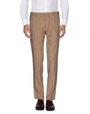 Повседневные брюки ..,BEAUCOUP. Цвет: охра