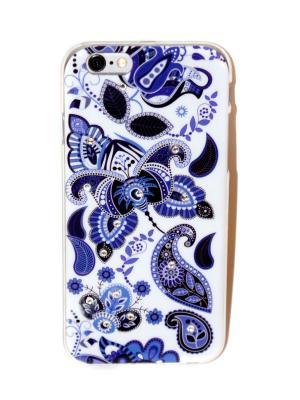 Чехол для iPhone 6/6s Lola. Цвет: синий, белый