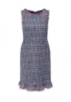 Платье Boutique Moschino. Цвет: синий