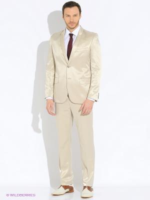 Мужской костюм Barkland. Цвет: молочный