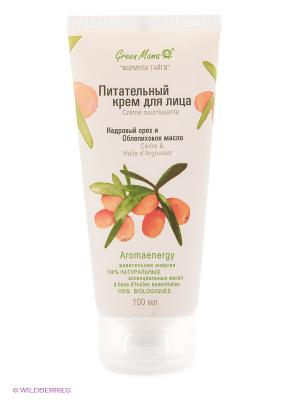 Питательный крем для лица Кедровый орех и облепиховое масло Green mama 065g