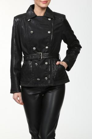 Куртка Vericci. Цвет: черный