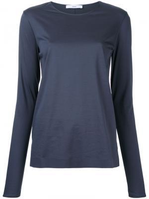 Блузка без отделки Astraet. Цвет: серый