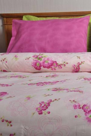 Постельное белье 1,5 сп. BRIELLE. Цвет: розовый