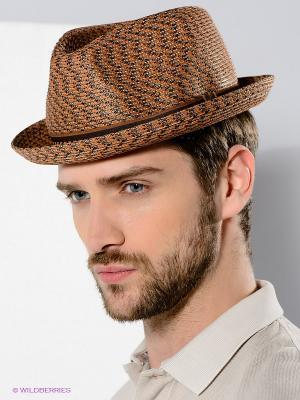 Шляпа Bailey. Цвет: светло-коричневый, серый