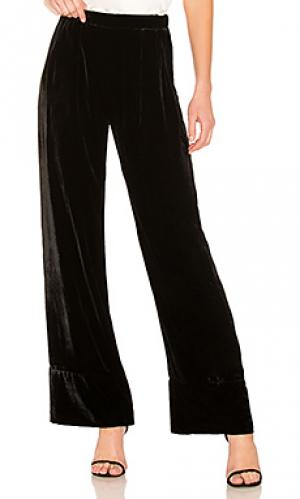 Свободные брюки wide leg Michael Lo Sordo. Цвет: черный