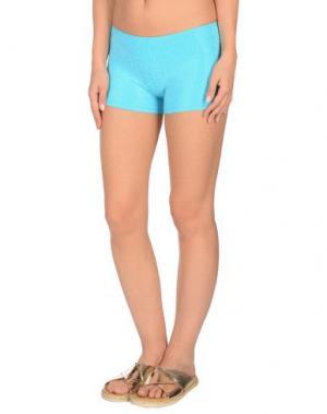 Пляжные брюки и шорты FISICO. Цвет: бирюзовый