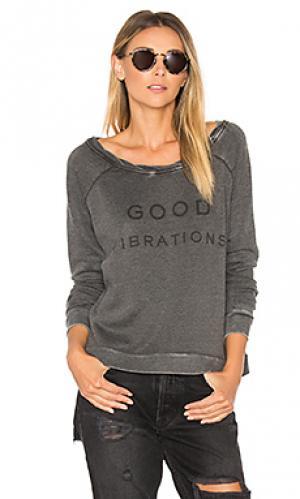 Свитер good vibrations The Laundry Room. Цвет: уголь